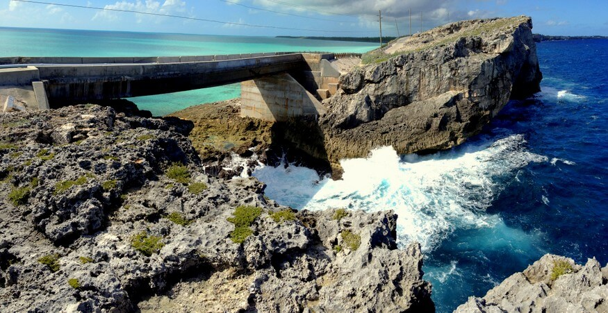 Glass Window Bridge Eleuthera