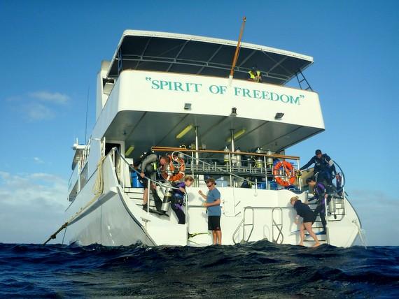Spirit of Freedom Boat