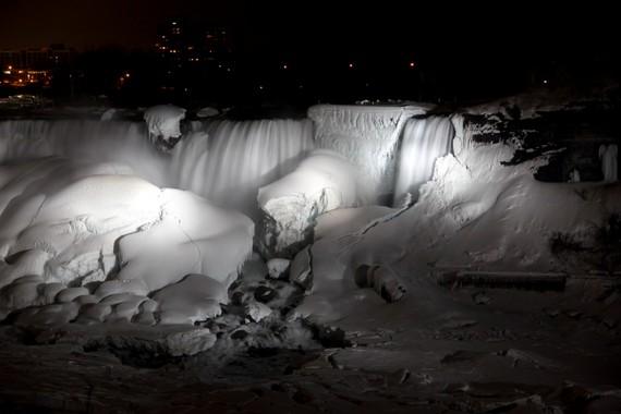 Winter American Falls niagara