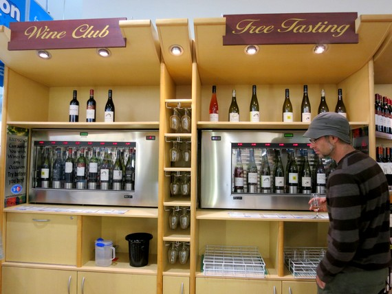 Wine tasting machine New Zealand
