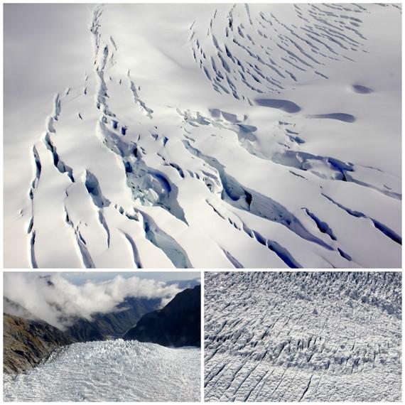 Glacier texture