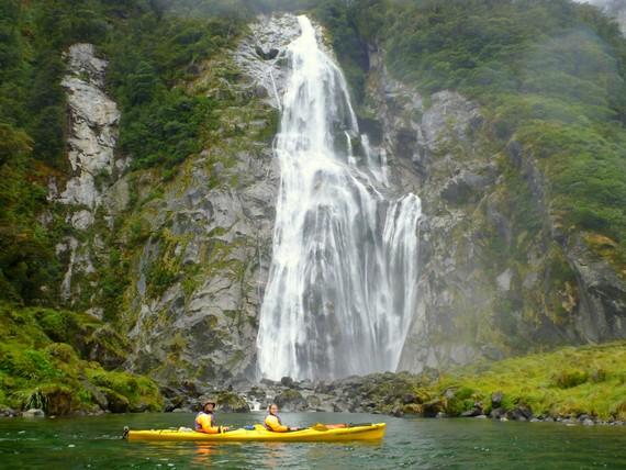 Lady Bowman Falls, NZ