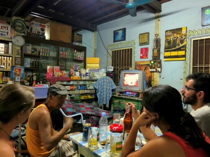 Bar in Hsipaw