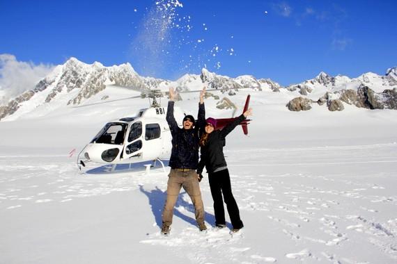 HoneyTrek on Franz Josef Glacier