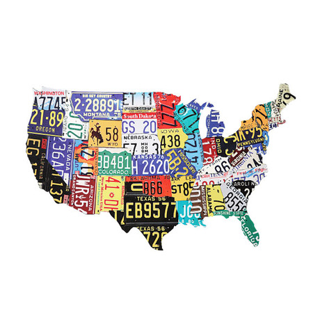 USA road trip graphic