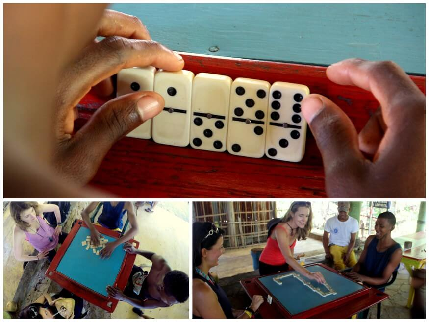 Dominos in the DR