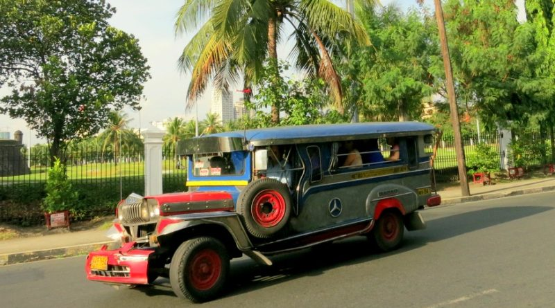 Jeepneys in Manila