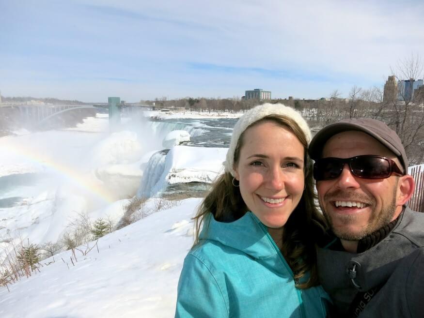 Niagara Falls in Winter, NY