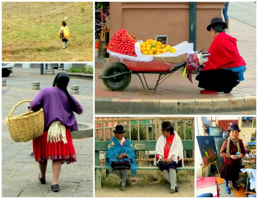 Ecuador's Andean women