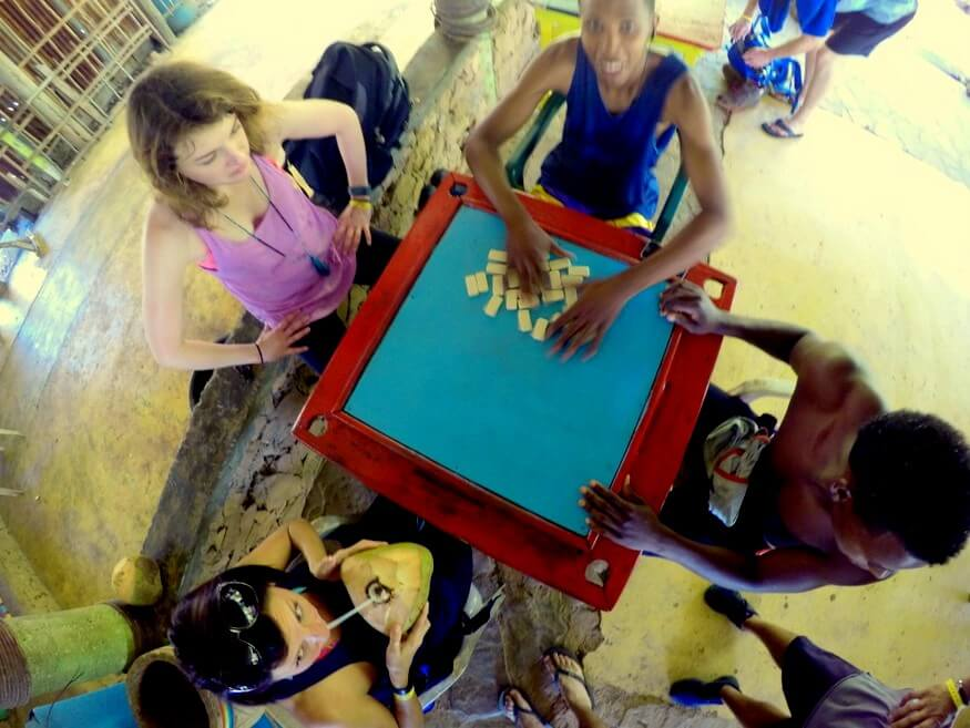Dominoes in the Dominican Republic