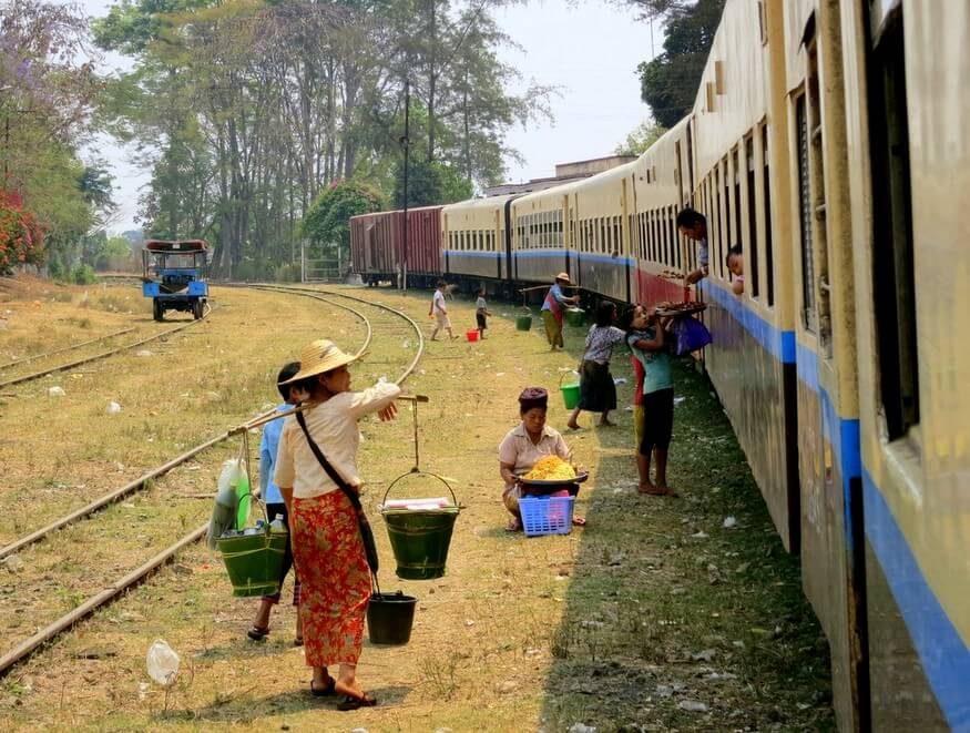 Train to Hsipaw