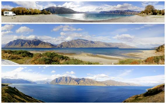 Panoramic Views of New Zealand