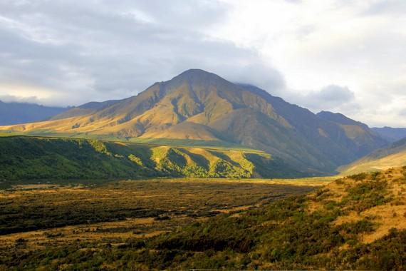 Fjordland Mountains, NZ