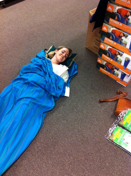 RTW Packing, sleep sack
