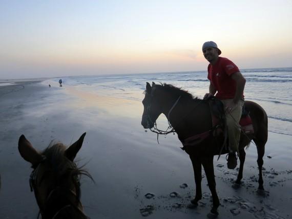 horseback riding at Jericoacoara