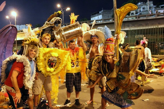 Carnival costume graveyard