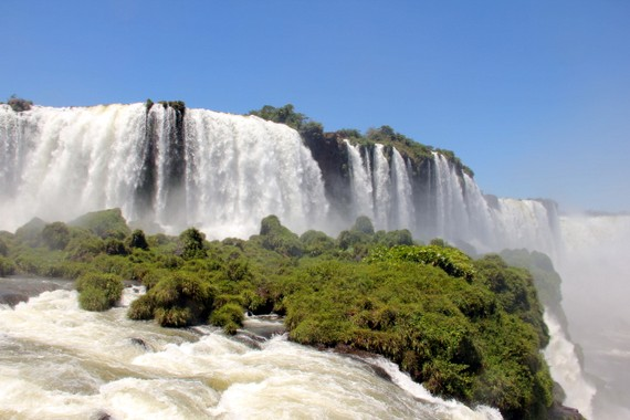 World Wonder Iguazu Falls