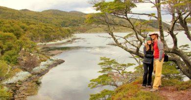 Glacier pond in Tierra del Fuego