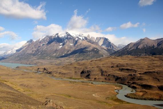 Torres del Paine mountain range