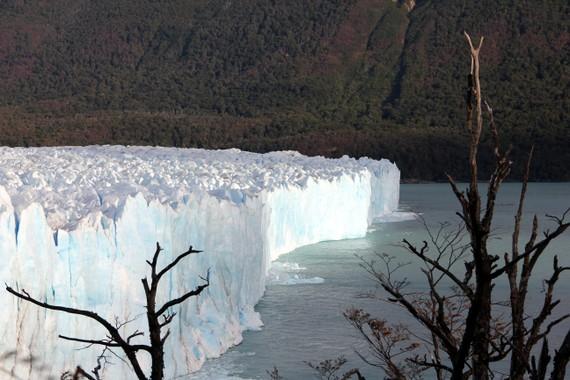 Calving glaciers at Perito Moreno