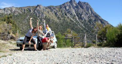 Road Trip! Seven Lakes Loop