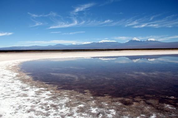 Cejar pond, San pedro de Atacama, Chile