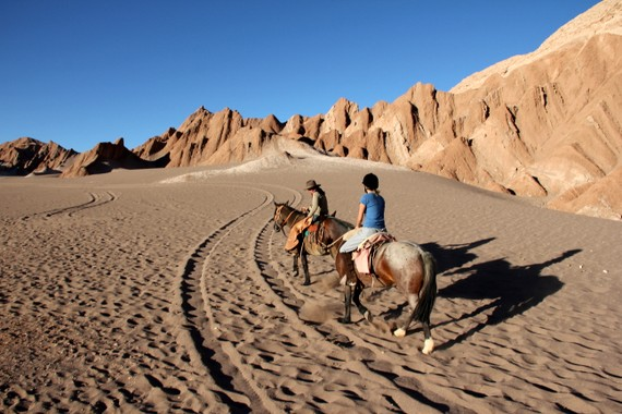Horseback riding in Death Valley with Awasi