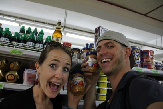 Finding Peanut Butter in Chile
