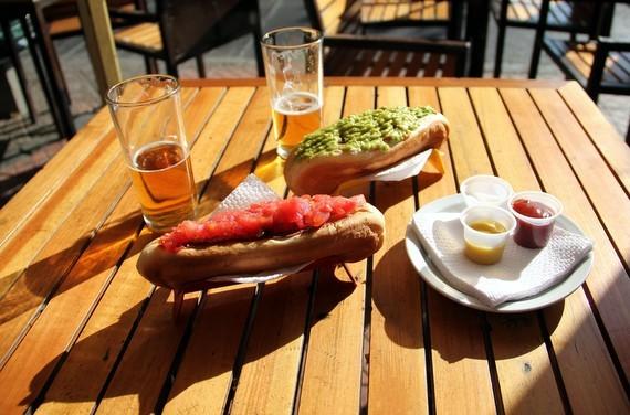 Chilean street food