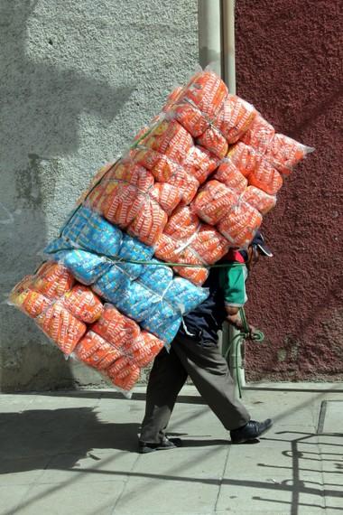 bolivian vendor