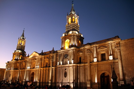 Arequipa Cathedral tour