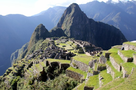 Sunrise over Machu Picchu with Andean Treks