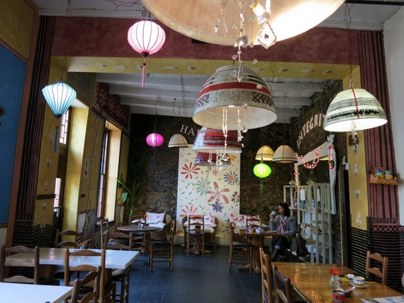 Africa Cafe interior Cape Town