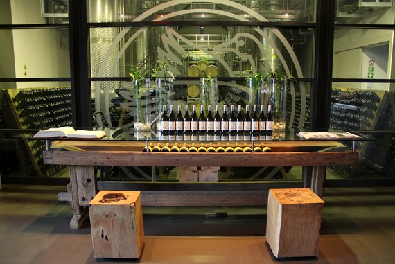 Steenberg vineyards and wine cellar, South Africa Cape Town