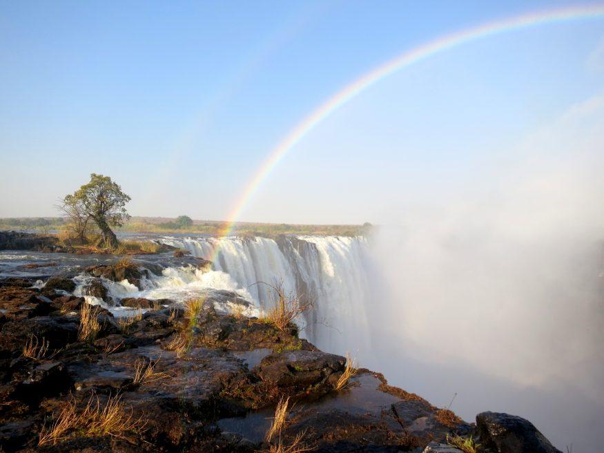 Victoria Falls Zambia, HoneyTrek.com