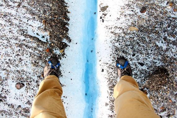 Ice trekking on Perito Moreno, Patagonia, Argentina