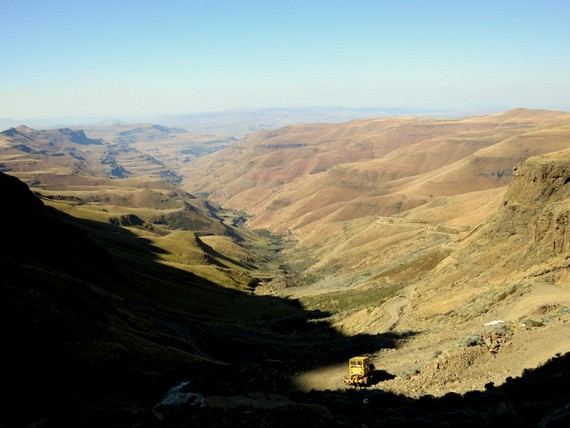 Sani Pass, South Africa into Lesotho
