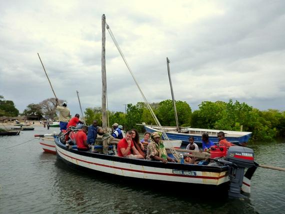 Ibo Island dhow ferry