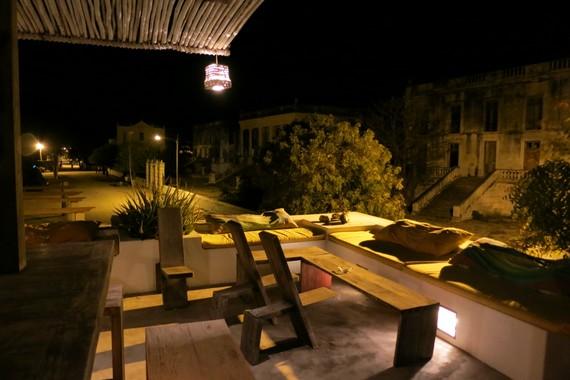 Rose cafe mozambique island