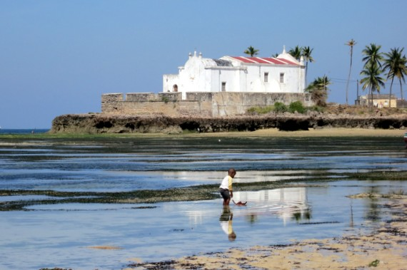 beachcombing on ilha de mozambique