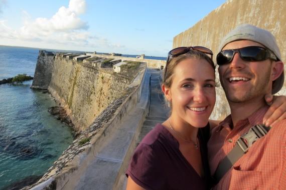 HoneyTrek visits Sao Sabastian fort