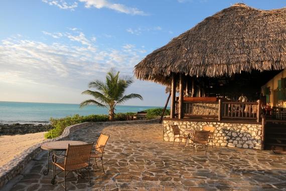 Medjumbe Swahili style beach bar