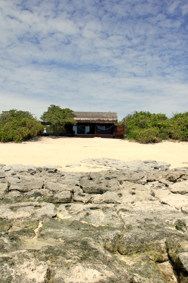 Medjumbe private beach-front chalet Mozambique