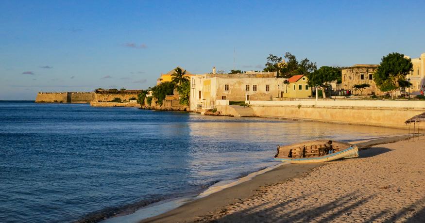 Ilha de Mozambique beaches