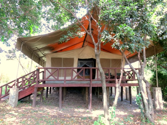 Mara Leisure camp in Masai Mara, Kenya