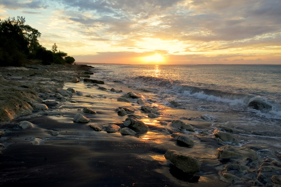 Mozambique sunset