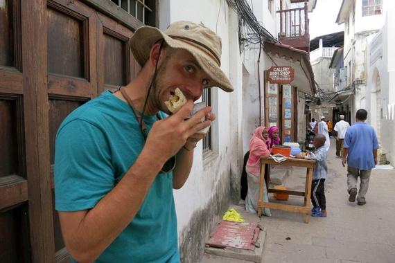 Eating chapati on Ramadan
