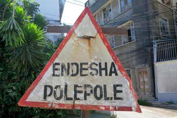 Pole Pole means slowly slowly in Swahili, Tanzania