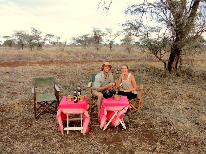 Offbeat Safaris Sundowners-HoneyTrek.com