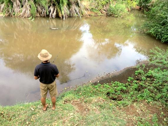 Kenyan Fishing and Safaris with HoneyTrek.com